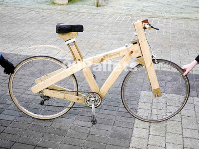 Bicycle made out of Pallets