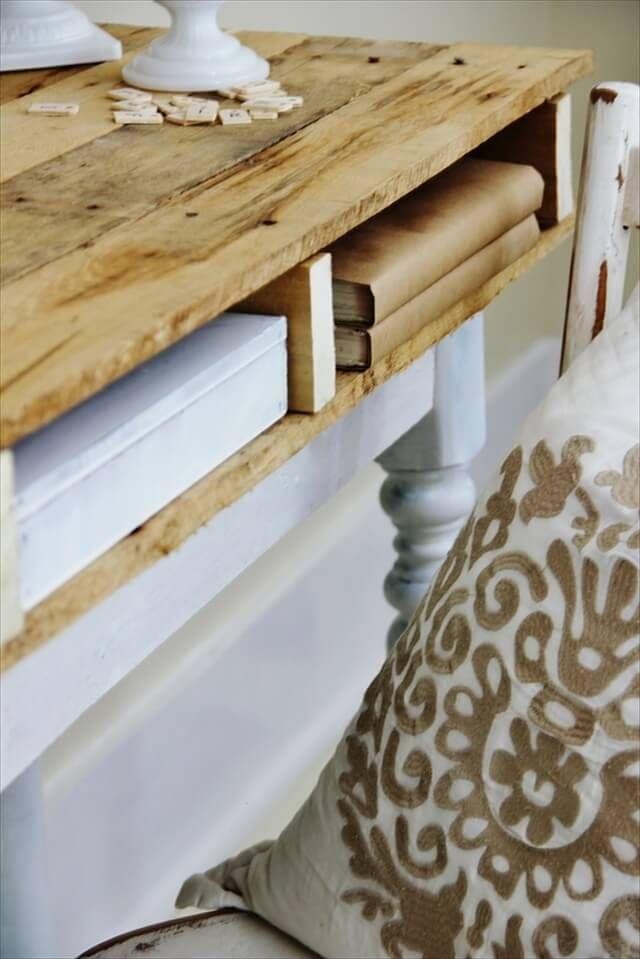 DIY Pallet Desk