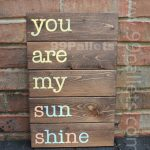 Your Feelings with Wooden Sign Pallet Art