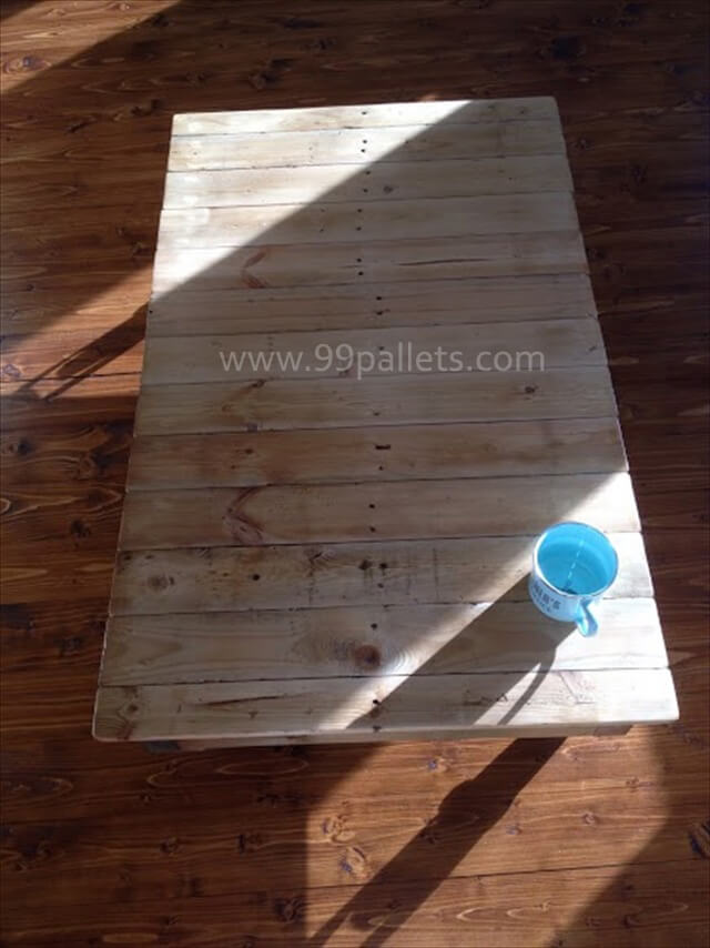 Wonderful Pallet Coffee Table