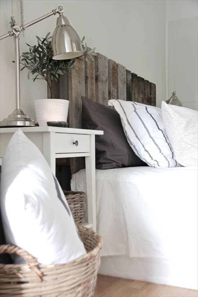 DIY Headboard From Pallets 99