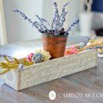 Beautiful DIY Pallet Flower Box