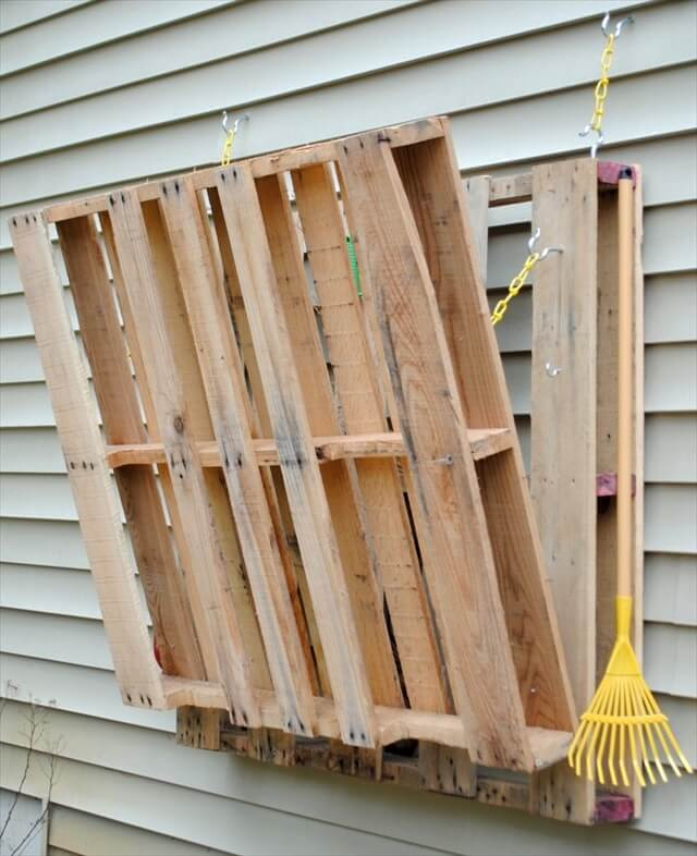 5 steps for diy pallet gardening table 99 pallets for Palette table de jardin