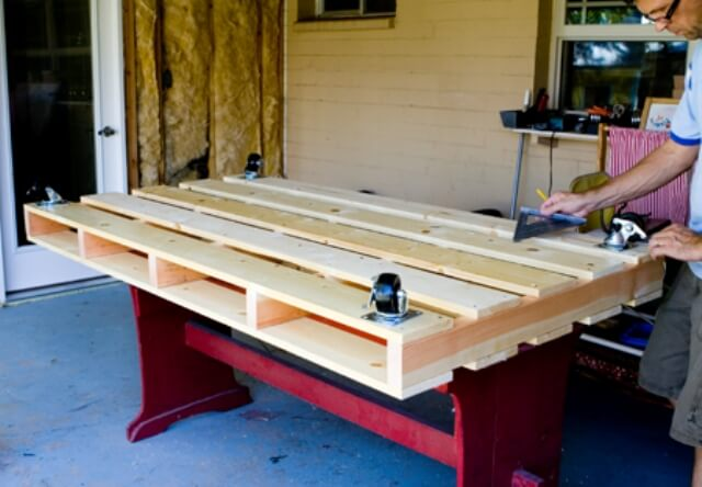 how to make a platform bed frame from pallets | Best Woodworking Plans