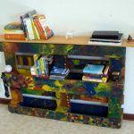 DIY Pallet Bookshelf Project