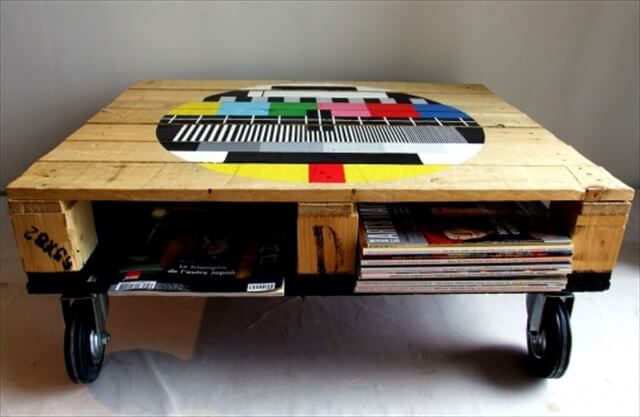 Customize Your Pallet Coffee Tables
