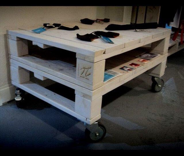 palelt table