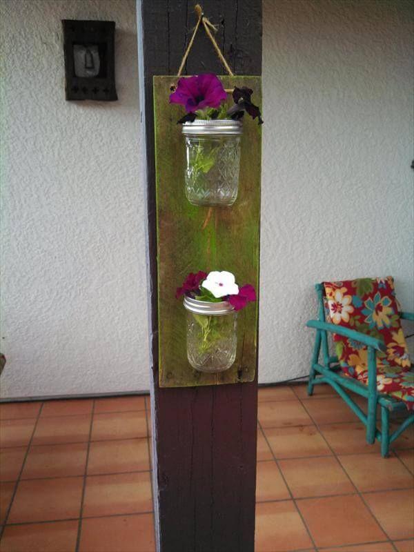 Mason Jar Hanging Wall Accents