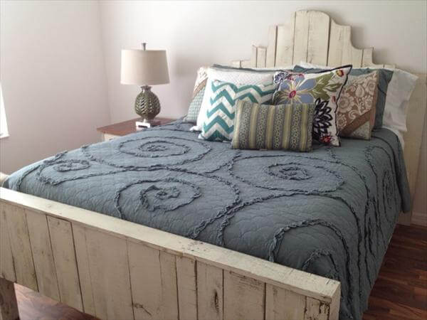 King Size Pallet Bed Frame