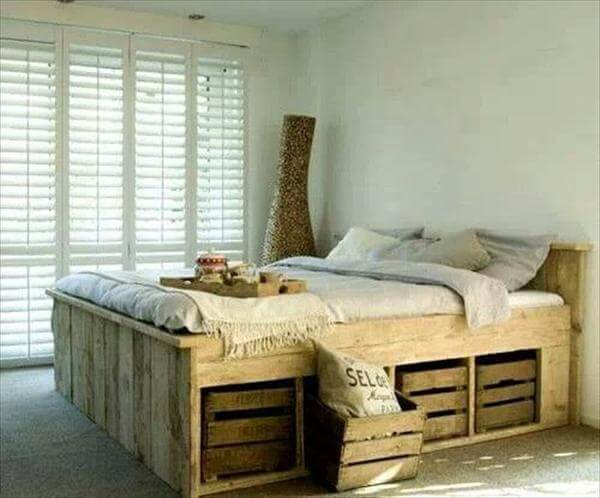 Beds Made Out of Pallets