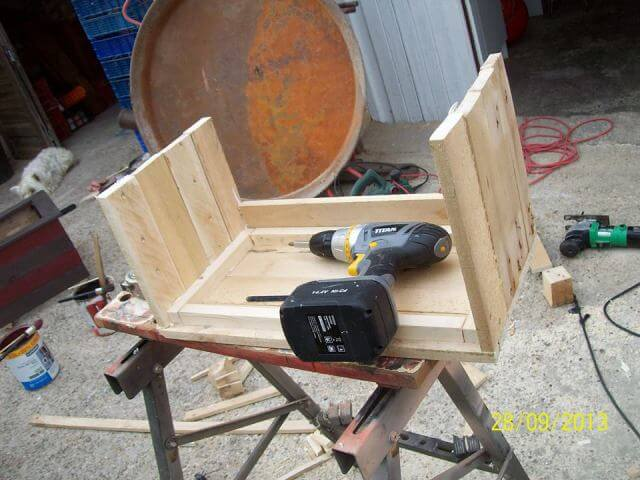 Small pallet chest