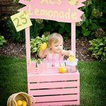 Pallet Lemonade Table