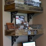 Pallet Store Room Shelves