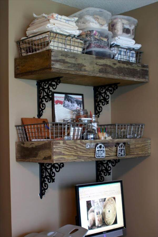 Pallet Store Room Shelves