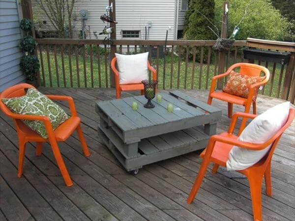 diy pallet coffee table design