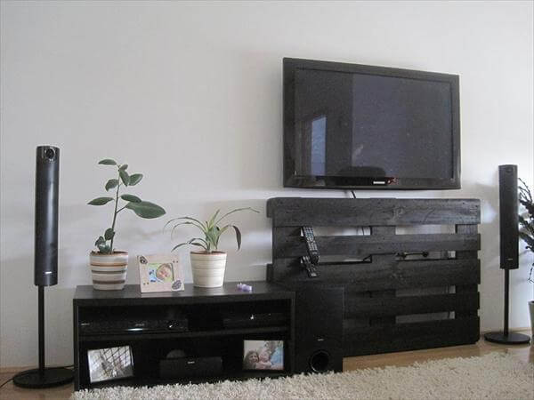Old Pallet TV Stand