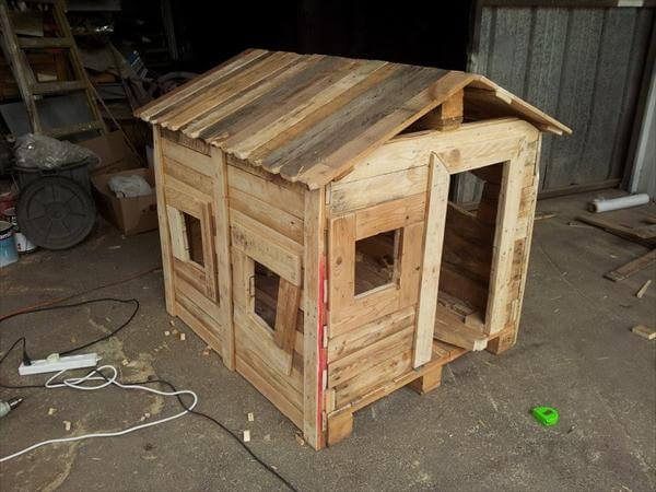 step 5 for pallet playhouse