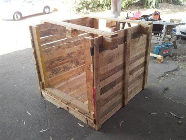 first step for pallet playhouse