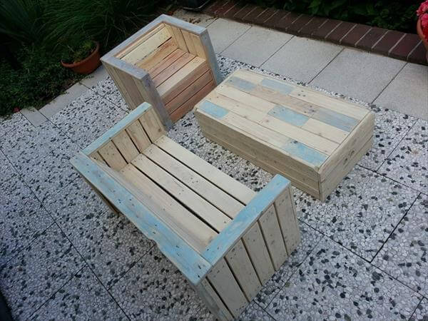 Simple Pallet Furniture