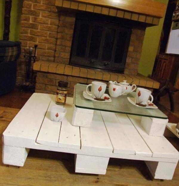 diy pallet coffee table idea