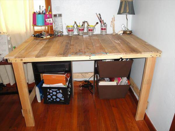 desks made out of pallets 3