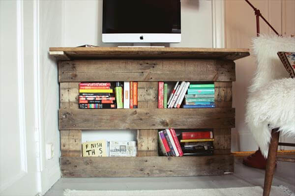 Tutorial DIY Pallet Desk