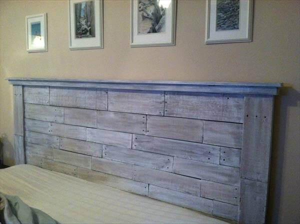 ... make your own headboard from pallets make a headboard from pallets