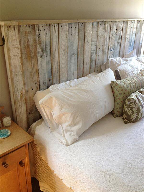 Build A Simple Pallet Headboard 99 Pallets