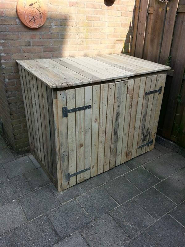 Tutorial Pallet Storage Bin Project 99 Pallets