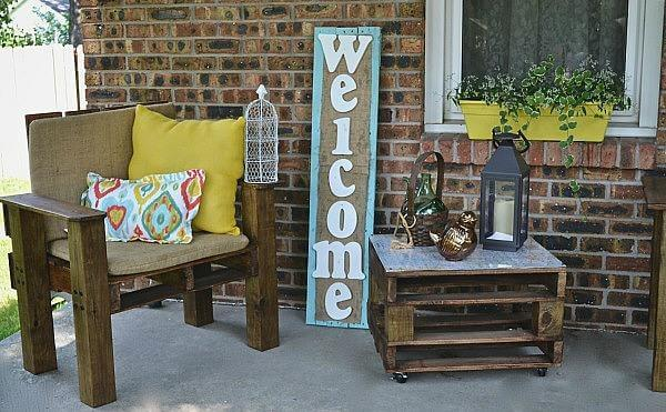 Plastic Chair Makeover Diy Outdoor Furniture