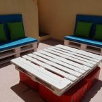 Recycled Pallet Patio and Terrace Furniture