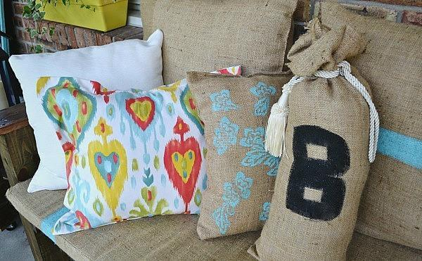 pallet cushion or pillows