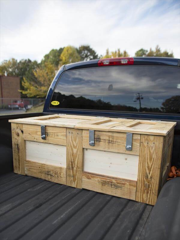 Wood Truck Tops ~ Diy wooden crate and pallet furniture projects