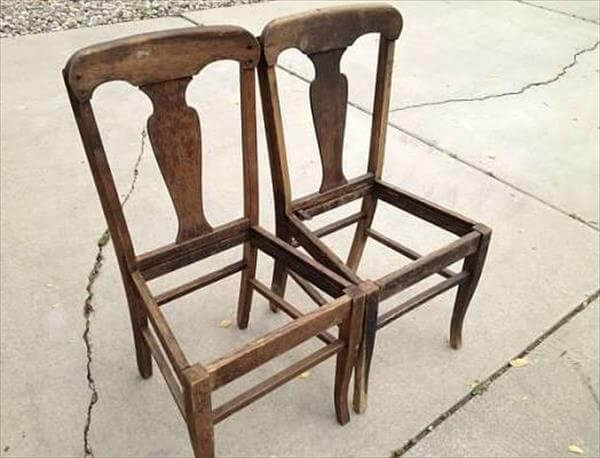 got two old chairs