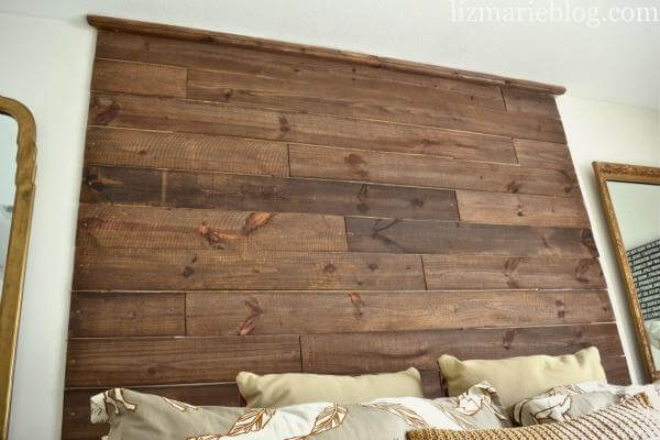 how to make pallet headboard on wall. Black Bedroom Furniture Sets. Home Design Ideas