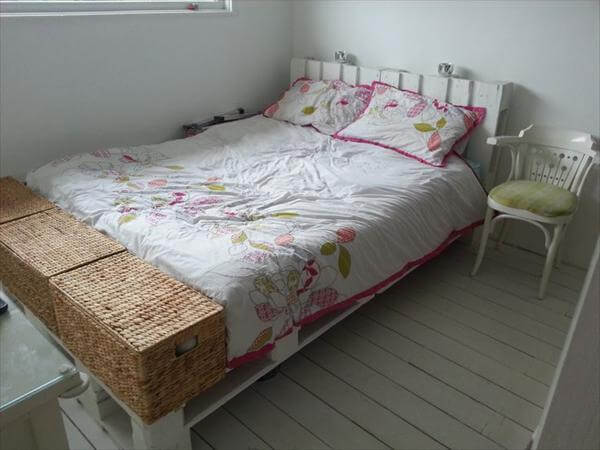 bed out of pallet