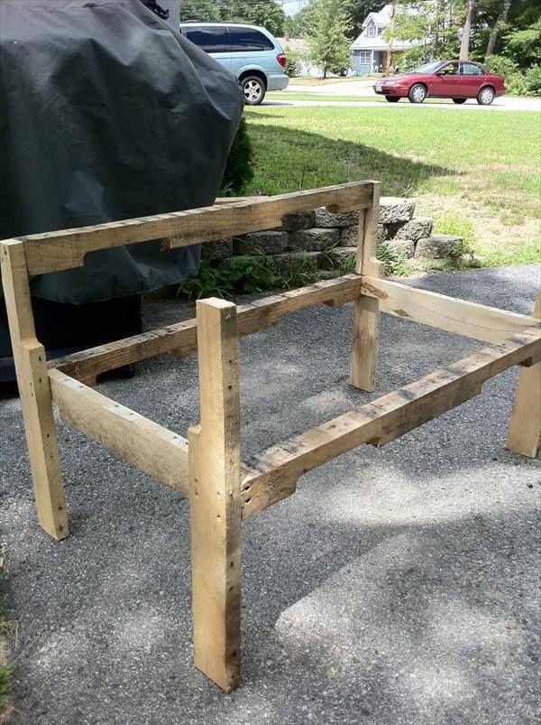 Pallet Bench frame