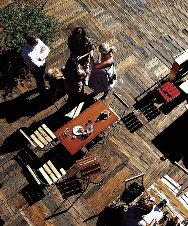 Wood Floors Made From Pallets