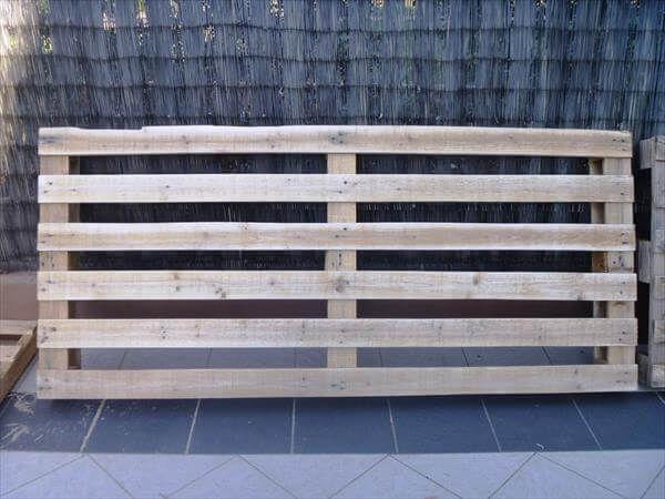 pallet frame for sofa