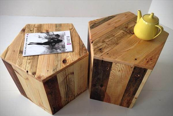 Diy 4 easy furniture projects from pallets 99 pallets for Pallet furniture projects