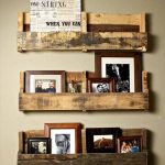 DIY Recycled Pallet Shelves
