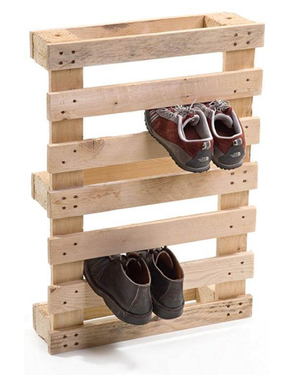 diy wooden pallet shoe rack plan 99 pallets