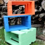 Homemade Stool Designs From Pallets
