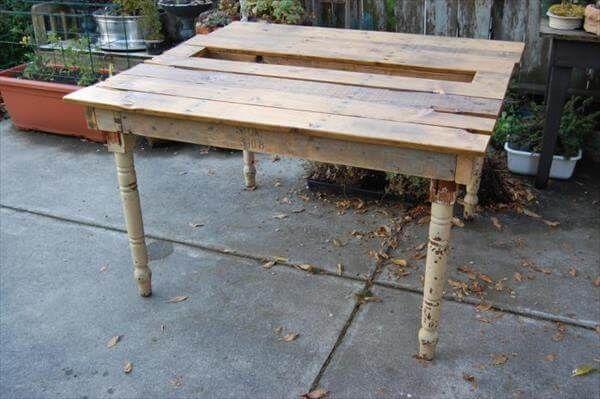 pallet table ideas