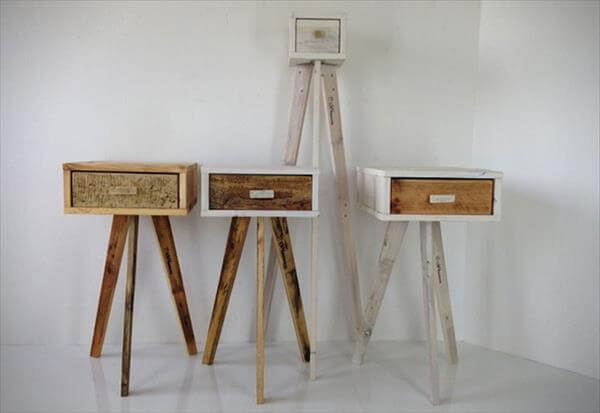 DIY 4 Easy Furniture Projects From Pallets