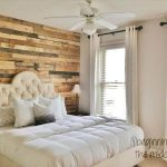 DIY Pallet Wall Makeover for Bedroom