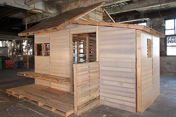 Diy pallet house instructions i beam design 99 pallets