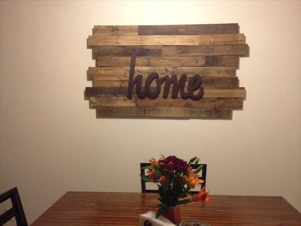 posts rustic pallet wall clocks pallet wall storage shelf pallet ...