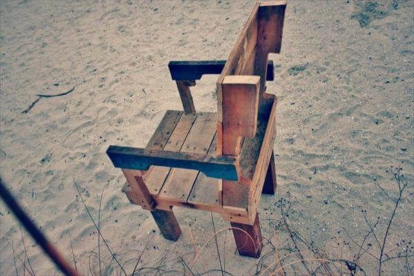 redeemed pallet chair