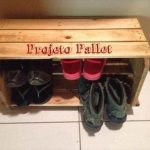 Pallet Shoe Storage Box